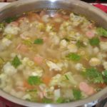 sup sosis ayam jamur