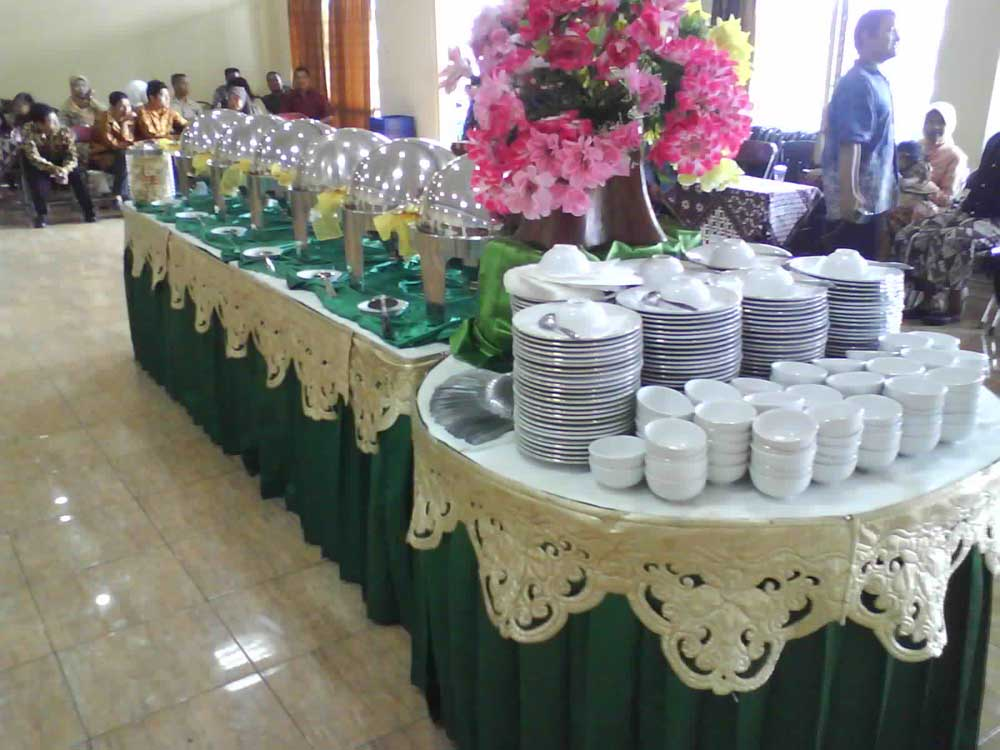 buffet maheswari catering yogyakarta - Maheswari Catering