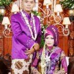 jilbab ungu