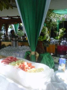 ice carving buah