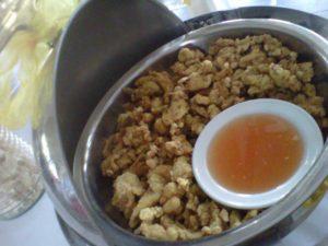 Menu Maheswari catering Yogyakarta