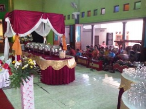 buffet dan gamelan