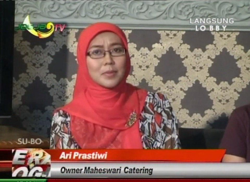 live maheswari catering yogyakarta di jogja tv