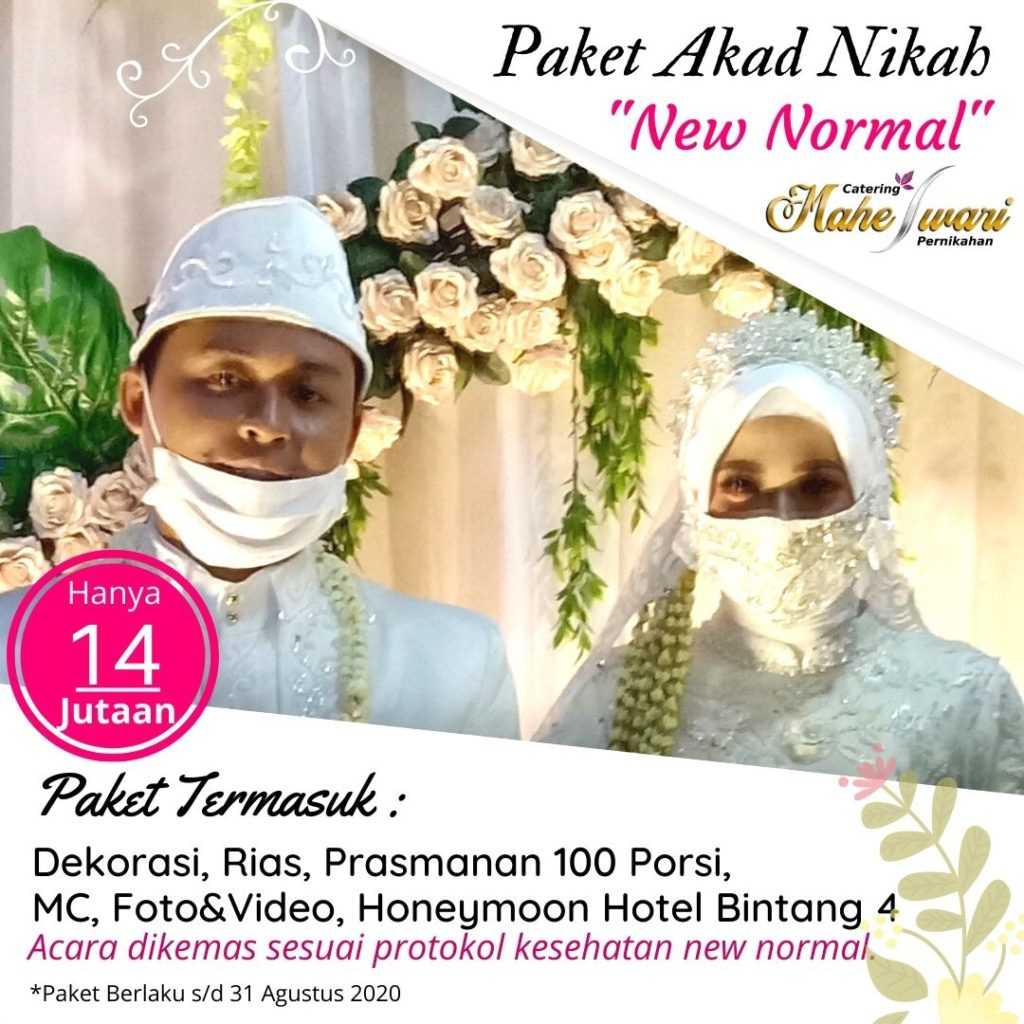 Paket catering pernikahan akad New Normal