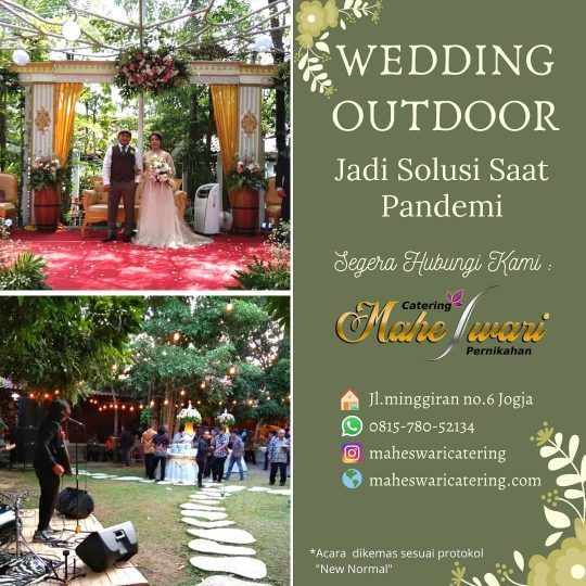 paket wedding outdoor