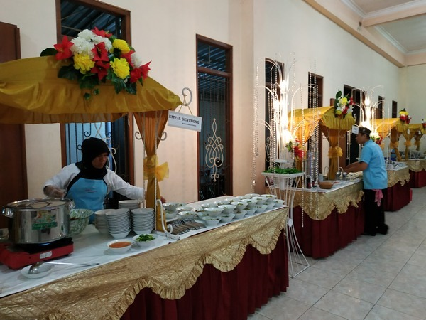 penataan gubug di griya tiara