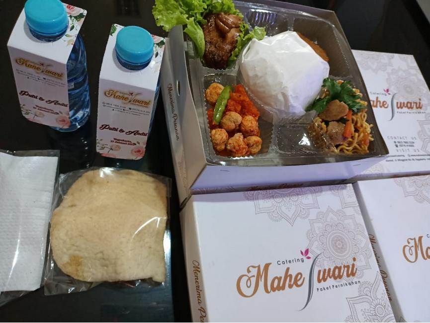 paket hampers catering jogja maheswari